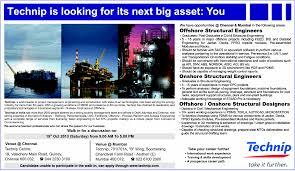 Structural Designer Jobs Usa Jobs In Technip Vacancies In Technip Opportunities At