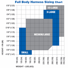 Fall Protection Harness Size Chart Know Your Werner Harness Werner Canada