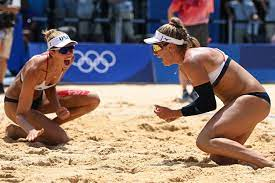 win Olympic beach volleyball gold