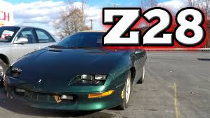 POV Drive: 1995 Chevrolet Camaro Z28 - YouTube