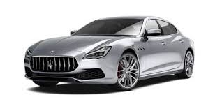 Maserati Quattroporte: The Luxury Saloon In Grey Version - Front And Side  View R