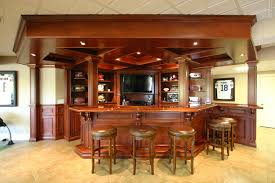home back bar furniture. Main Bar Top Forms Angled U-shape Which Joins Up With Wall Shelf For Continuous Home Back Furniture