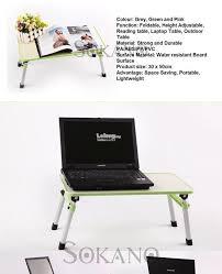 foldable laptop table adjule portable notebook bed desk