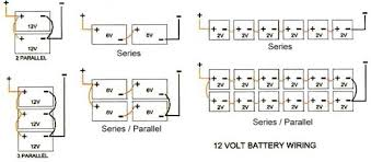 wiring multiple 6 volt batteries together th two inverters 94 battery wiring diagrams wiring multiple 6 volt batteries together