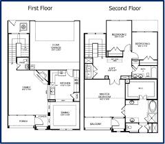Elegant 2 Story 1 Bedroom Floor Plans House As Well 2 Story 3 Bedroom In  2storyhouseplans