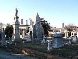 Oakland Cemetery in Atlanta, Geogia