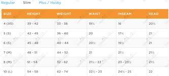 Boys Husky Size Chart 2016 Gymboree 2016 Girl Boy Apparel Accessories Plus