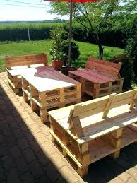 furniture made out of pallets. Garden Furniture Made From Pallets Patio Of Outdoor  Pallet Bench Out M