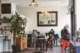 The company is owned by the same folks as the grove and this new location is adjoined with the grove on 620. 21 Coffee Shops That Serve Great Food New York The Infatuation