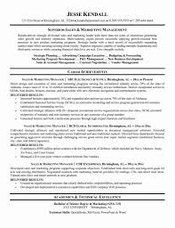 Sales And Marketing Manager Resumes Marketing Professional Resume Examples