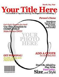 Make Your Own Magazine Cover Superhero Party Super Heros
