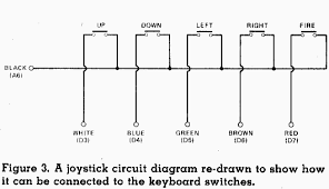 genial joystick Elevator Schematic Diagram a joystick circuit diagram re drawn to show how it can be
