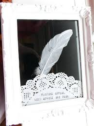 angel picture frames a white stamped feather poem frame any name relative on feather background choice