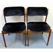 danish modern teak dining chairs inspirational pair of mid century danish modern erik buch for o d