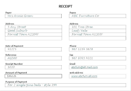Free Printable Receipt Forms Pdf Hand Written Template Receipts