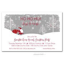Images Of Christmas Invitations Santas Trail Christmas Party Invitations