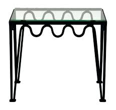 metal and glass side table the blackened steel and glass side table metal and glass side metal and glass side table