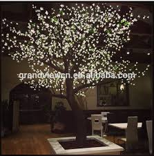 outdoor blossom tree led lights. white artificial nature led cherry blossom tree light for s outdoor lights a