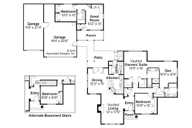 house plans with detached guest house