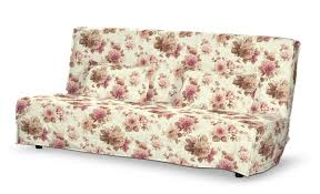 floor length quilted beddinge sofa bed cover in collection mirella fabric 141 06