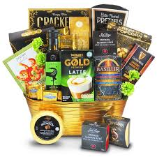 elite treatment 125 50 a luxurious gift basket with delectable gourmet guinness