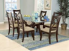 Round Glass Dining Room Table Sets Awesome Stunning Glass Dining Room Set Table Ultimate Dining Table