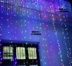whole led curtain lights decoration light garden wedding background light multicolour 400leds string lights indoor party string lights