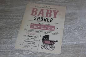 où acheter son faire part de baby shower