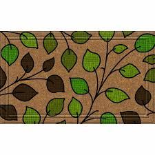 Amazon.com : Naturelles Summer Leaves Door Mat, 24-Inch by 36-Inch ...