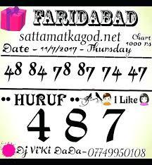 Ghaziabad Chart 2018 Winning Satta King Fast Taj Result Gali Disawar Ghaziabad Up
