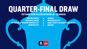The fa cup scores, results and fixtures on bbc sport, including live football scores, goals and goal scorers. Emirates Fa Cup On Twitter Here Is The Official Emiratesfacup Quarter Final Draw What Fixture Are You Looking Forward To
