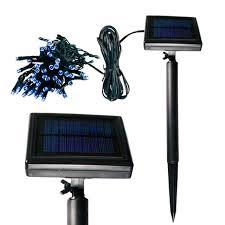 Solar Cool White Garden Mini Lights Action Lighting Inc