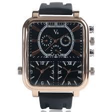 popular aviator watch buy cheap aviator watch lots from men luxury watches business fashion quartz wrist watch aviator casual military silicone three time zone rectangle