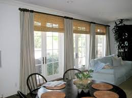 bamboo blinds for french doors nytexas best window treatment for sliding patio