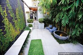 Small Picture REAL BACKYARD Inner city courtyard garden design Completehome