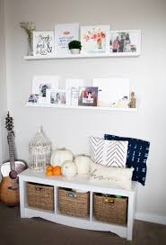 Living Room Shelves Home White Art Shelves In The Living Room Positively Oakes