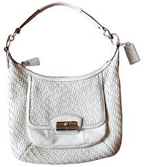 Coach White Bags - Up to 70% off at Tradesy