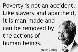 Nelson Mandela On Poverty Quotes [good] Quotes Pinterest Interesting Poverty Quotes