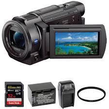 Sony Fdr Ax33 4k Ultra Hd Handycam Camcorder
