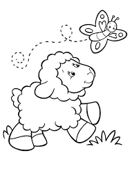 Small Picture Sheep kids cute coloring pages Archives Best Coloring Page For