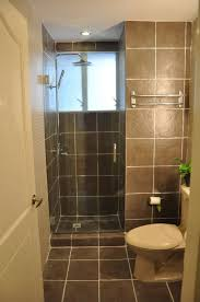 awesome bathrooms. Awesome Bathroom Design Small House Inspiration Cool Ideas Bathrooms Interior Deisgn Tile With Brown Subway And Hidden Shower Room Also Chrome Stall Glazing