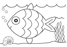 Fish Coloring Pages Only Coloring Pages