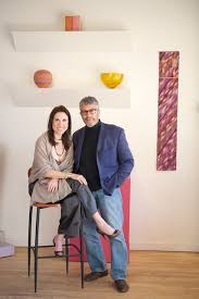 Allison and Ivan Barnett of Patina Gallery. | Gallery, Artist at work,  American crafts