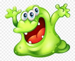 cartoon ige monster slime clipart free png
