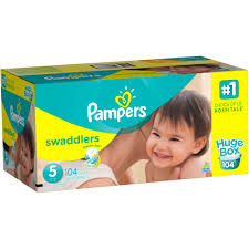Pampers Swaddlers Size 5 152 Count For 31 98 Walmart Com