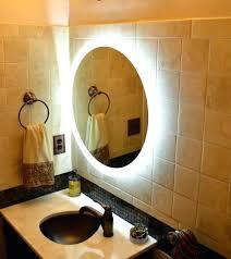 Illuminated wall mirrors for bathroom Backlight Lighted Bathroom Wall Mirror Large Lighted Wall Mirror Large Size Of Light Lighted Wall Mirror Shapes Djemete Lighted Bathroom Wall Mirror Large Chazuo