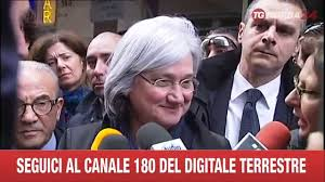BARI ROSI BINDI VISITA GELATERIA GASPERINI - YouTube