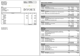 sample invice 6 invoice samples absence notes