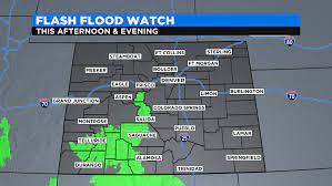 Colorado Weather: Flash Flood Threat ...