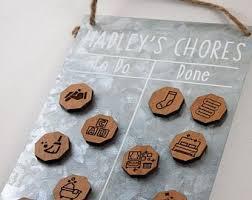 Chore Carts Chore Chart Etsy